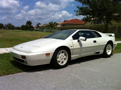 how to sell used cars 1989 lotus esprit windshield wipe control buy used 1989 lotus esprit turbo se coupe 2 door 2 2l in fort lauderdale florida united states