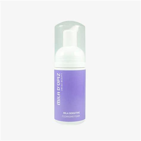 Mila D Opiz Sensitive Soft Cleansing Foam mila sensitive cleansing foam mila d opiz swiss skincare at sunaura