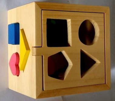 Kotak Pas Hewan kotak pas mainan kayu