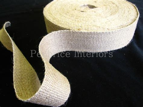 reel  strong jute upholstery chair webbing roll seat seating tape mt   ebay