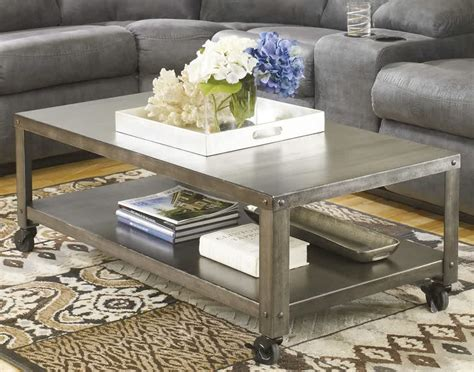 coffee table with casters coffee table on casters move it anytime homesfeed