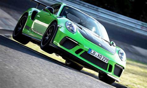 Porsche 911 Gt3 Rs Preis by Porsche 911 Gt3 Rs Facelift 2018 Preis Rekord