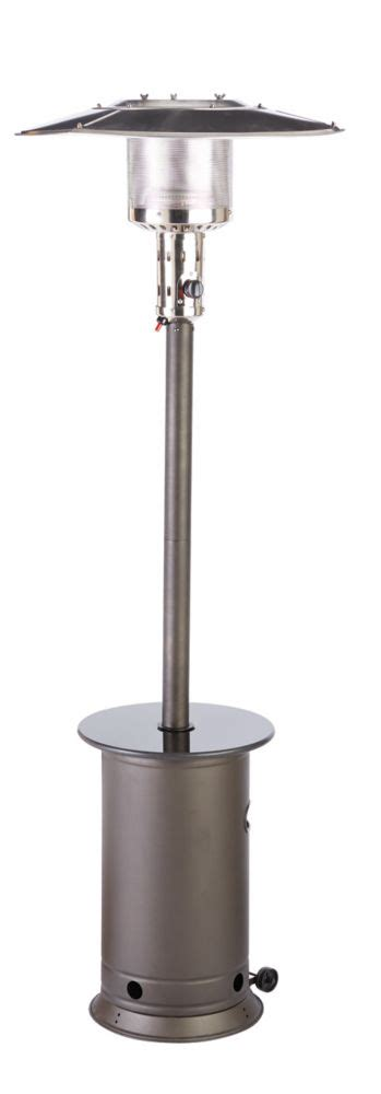 outdoor heater patio hton bay outdoor patio heater the home depot canada