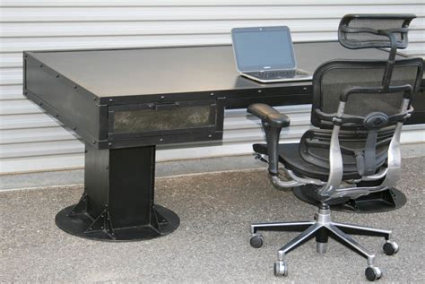 Combine 9   Industrial Furniture ? Industrial desk with
