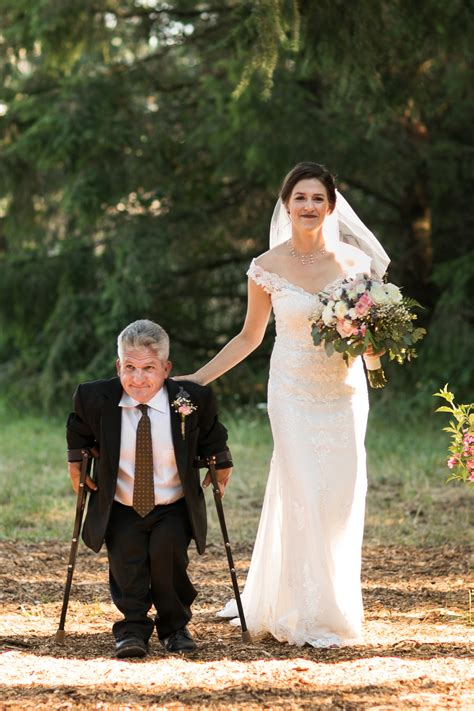 New Wedding Photos by Persons Large World S Molly Roloff Marries Joel