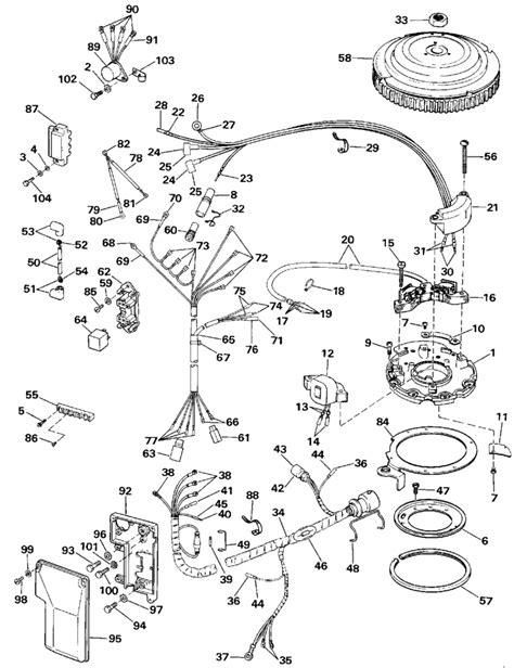 Mercury 50 Hp 2 Stroke Wiring Diagram