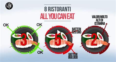 contaminazione crociata alimenti sushi all you can eat contaminazione crociata e igiene