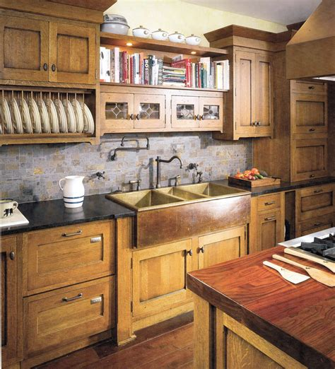 craftsman kitchen cabinets craftsman interiors kitchen afreakatheart