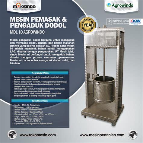 Mesin Pengaduk Mesin Mixer 1 mesin pemasak dan pengaduk dodol selai jenang dll toko