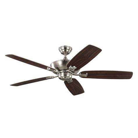 Monte Carlo Fans 5com52bs Colony Max Brushed Steel Interior Ceiling Fans