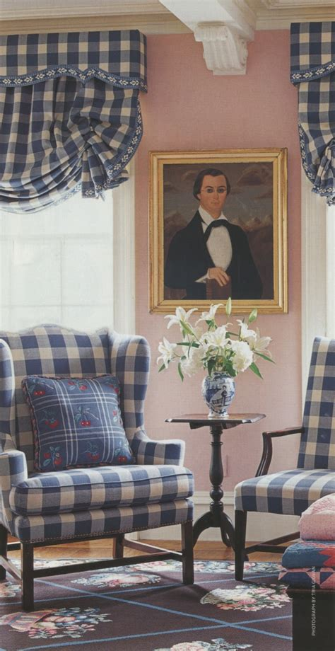 Blue Buffalo Check Curtains An With Design Icon Anthony Baratta The Glam Pad