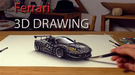 Ferrari Zeichnen by Bild Ferrari Rennwagen Malen Zeichnen Von Stefan Pabst