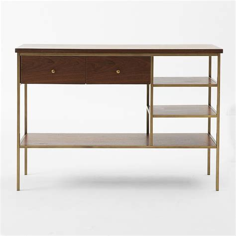Nook Console Midcentury Console Tables By West Elm West Elm Sofa Table