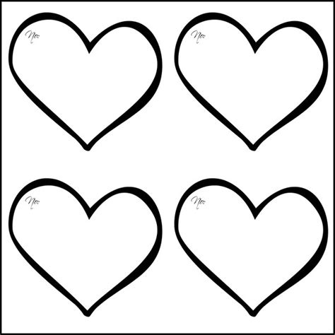 heart template coloring page heart template printable heart templates free premium