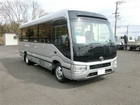 coaster toyota toyota coaster 30 seater f l 2017 for sale in lahore