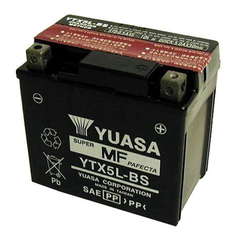 Baterai Yuasa Untuk Motor bater 237 a yuasa ytx5l bs agm abierta con pack de 225 cido tipo
