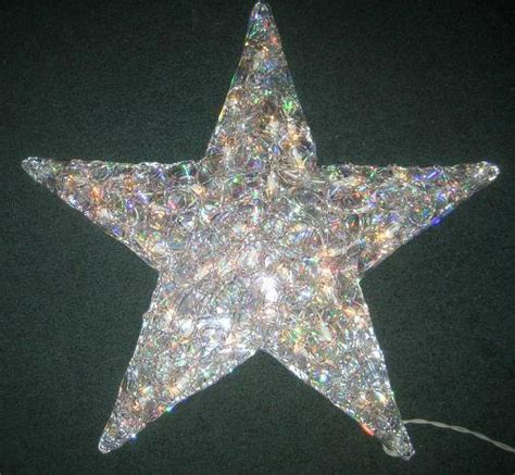 large lighted star outdoors large 21 quot acrylic lighted star 35 lights indoor outdoor