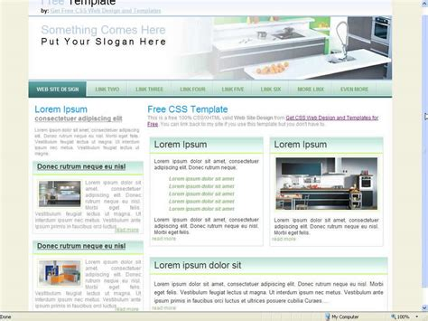 free website templates for interior design download free