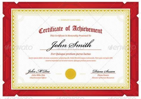Free Psd Certificate Template certificate templates psd printable templates free