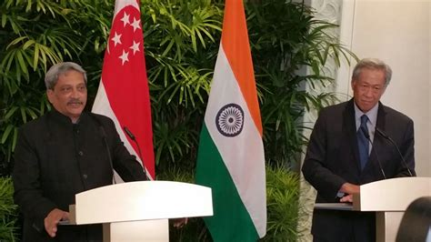 Mba In Defence Management In India by Key Takeaways From India Singapore Defence Ministers Meet
