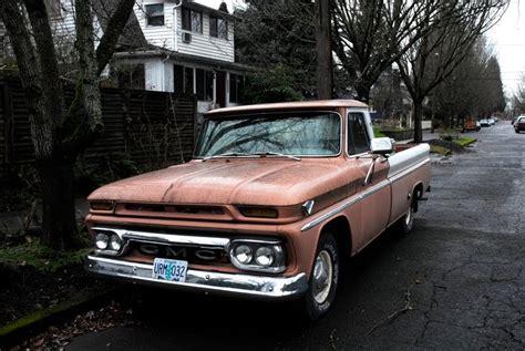 1964 gmc truck parked cars badgeless 1964 gmc custom truck