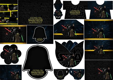 kit printable star wars star wars invitaciones para imprimir gratis oh my