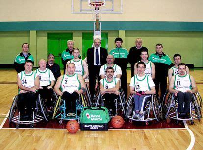 Banca Delle Marche Lavora Con Noi by Basket In Carrozzina Altri Due Punti Per Il S Stefano