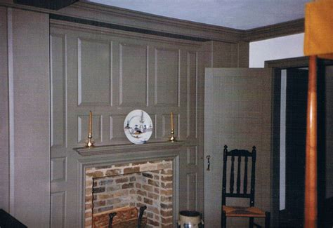Authentic Colonial Mantels & Fireplaces by Sunderland