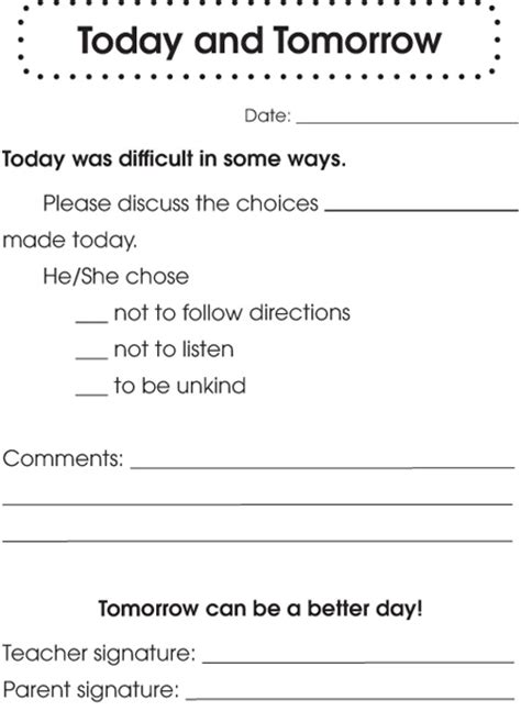 Parent Notification Letter Behavior Best 25 Parent Communication Forms Ideas On