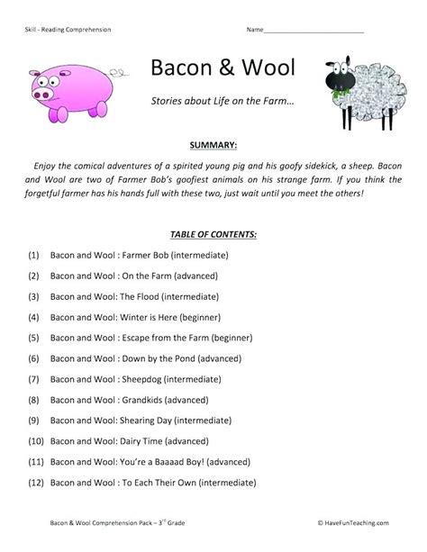 comprehension workbook year 3 1407141791 year 3 comprehension worksheets grade reading third have fun teaching 10 english pdf compreh
