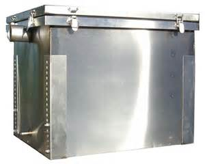 grease trap 120 litre multi sink grease trap
