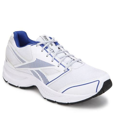 city sport shoes reebok city runner lp white sports shoes price in india