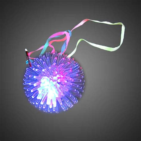battery light necklace glow s battery operated lighted led necklaces