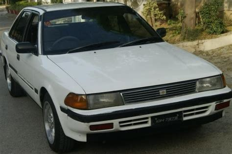 Toyota Corona For Sale In Pakistan Toyota Corona 1988 White Color For Sale In Islamabad