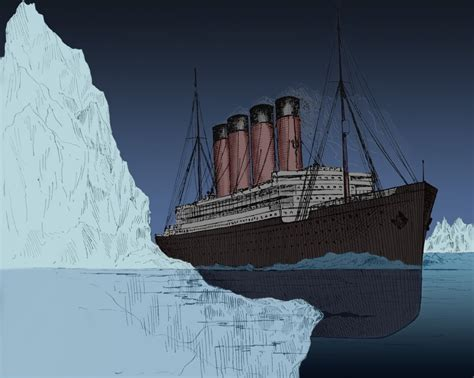 titanic boat iceberg why didn t the passengers of the titanic climb aboard the