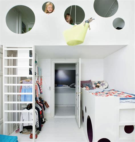 Childrens Bedroom Loft Beds Loft Beds With Creative Playroom Home Design And