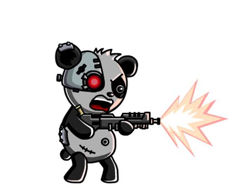 transparent panda gif find  gifer