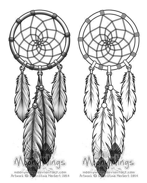 dream catcher tattoo outline dreamcatcher tattoo concept by moonywings deviantart com