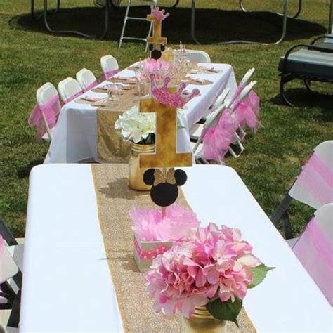 minnie mouse centerpieces minnie mouse centerpiece pink and gold minnie mouse birthday