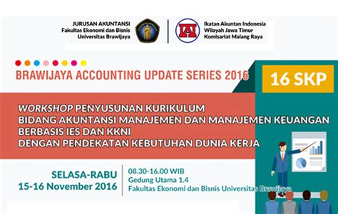 Paket Maintenance Ac Murah Se Malang Raya brawijaya accounting update series 2016 accounting department