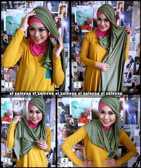 tutorial hijab segi empat gang segi empat hijab tutorial with headband hijabiworld