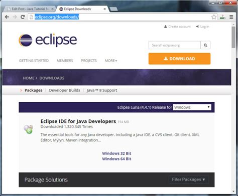 java eclipse full version free download java eclipse tutorial java tutorial network