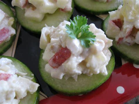 cucumber canapes pandora s box cucumber canapes