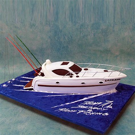 how to make a fishing boat cake topper fishing boat cake boats ships sea 3d cakes