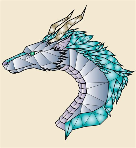 tattoo geometric dragon haku tattoo geometric design by tragykmagyk on deviantart