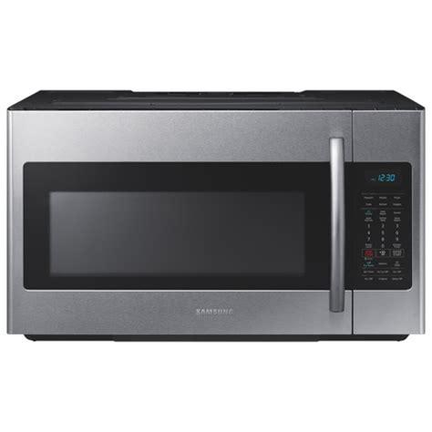 Samsung Ms28j5255ubse Microwave 1 samsung the range microwave 1 8 cu ft stainless steel the range microwaves