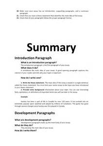 how do i write a summary essay