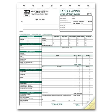 lawn maintenance invoice template lawn care estimate sheet lawn xcyyxh