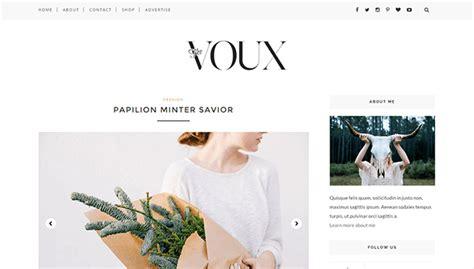 blogger themes 2015 minimalist voux minimal responsive blogger template themexpose