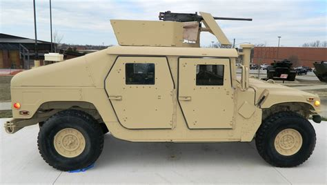 armored humvee m1114 hmmwv up armored armament carrier walk around page 1